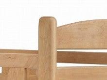 木工所のブログ-アルダー材 二段ベッド アルト