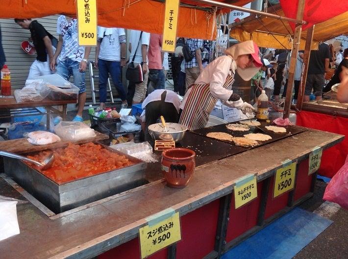ヤマネの徒然ブログ-韓国風チジミ500