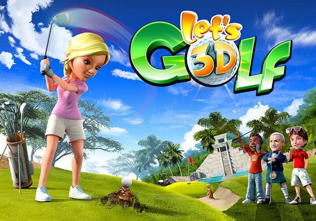 3DS レッツ!ゴルフ 3D