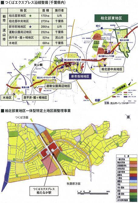 TX沿線開発千葉県