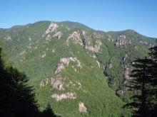 関西蛍雪山岳会のページ-ガマルート遠望