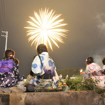 復興の花火大会