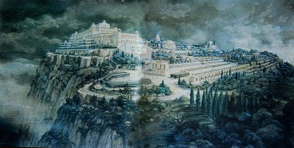 【彼女の恋した南イタリア】 - diario  イタリアリゾート最新情報    -ティベリウスの宮殿、想像図
