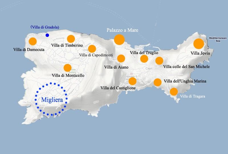【彼女の恋した南イタリア】 - diario  イタリアリゾート最新情報    -カプリ島皇帝12ヴィラ空白のミリエラ