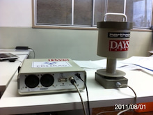 $果樹園ブギウギ-福島 阿部果樹園 測定器