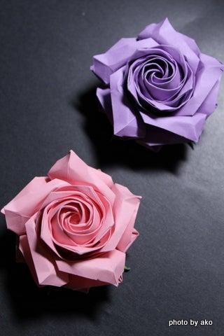 簡単 折り紙 折り紙 難しい 花 : ameblo.jp