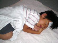 $「こそだて医療」で子どもの健康を守る!-息子発熱