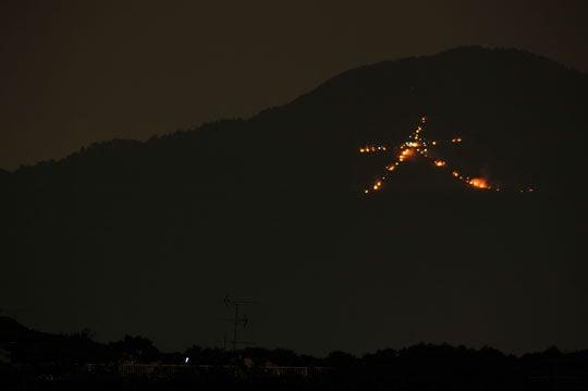 そうだった、京都に行こう(京都写真集)-送り火2