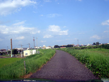 やっさんのGPS絵画プロジェクト -Yassan's GPS Drawing Project--03河川の道路