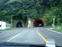 やっさんのGPS絵画プロジェクト -Yassan's GPS Drawing Project--13新旧トンネル