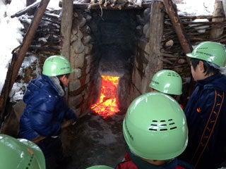 $NPO法人『ひらた里山の会』-炭焼き体験