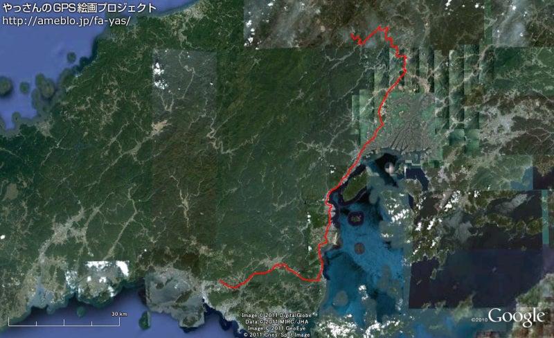 やっさんのGPS絵画プロジェクト -Yassan's GPS Drawing Project-