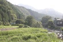 道志村『隠れ家的』ブログ-道志川と道志川荘