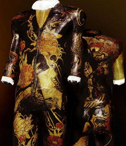 $歪んだものほど美しい-刺青人体標本_トルソー