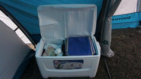 初めてのオートキャンプ!子供と一緒にキャンプに行こう!-4日目クーラーボックス3
