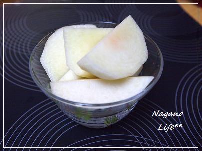 Nagano Life**-カリカリ桃
