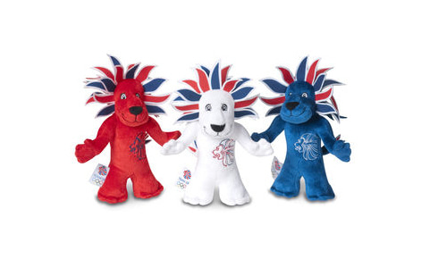 Britain Park  - 英国政府観光庁 -2012年ロンドン・オリンピック イギリス代表チームのマスコット