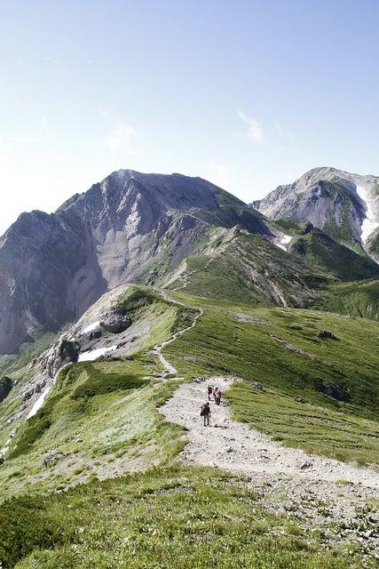 $cheltenhamのブログ-杓子岳と鑓ヶ岳
