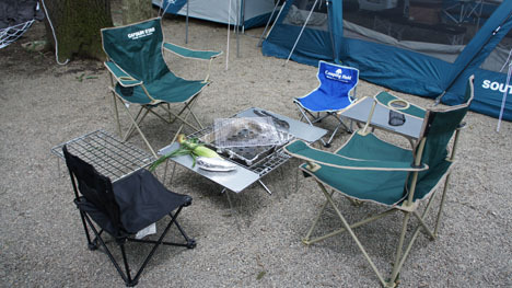 初めてのオートキャンプ!子供と一緒にキャンプに行こう!-ファイアグリルとIRORI3