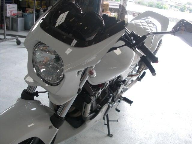 京都の女職人が書く車のブログ☆★-オートバイ 塗装