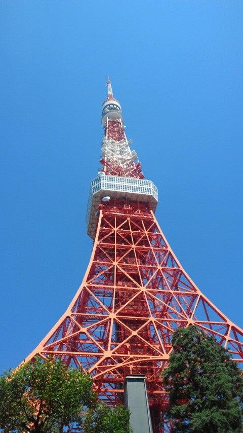 $芸術村の村長さんのブログ-東京タワー