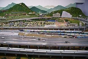 埼玉おもしろマップ-国内最大級の鉄道ジオラマ