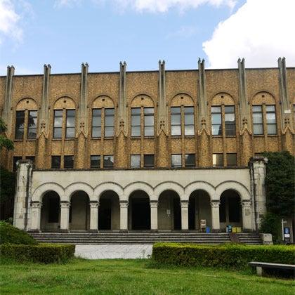 $歪んだものほど美しい-東京大学医学部2号館