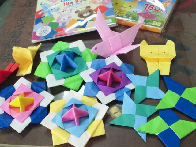 簡単 折り紙:コマ 折り紙-divulgando.net