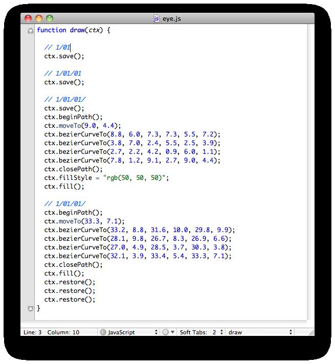 1 pixel サイバーエージェント公式クリエイターズブログ-Canvasデータ