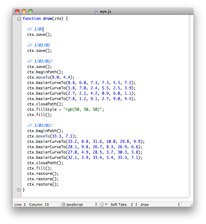 1 pixel|サイバーエージェント公式クリエイターズブログ-Canvasデータ