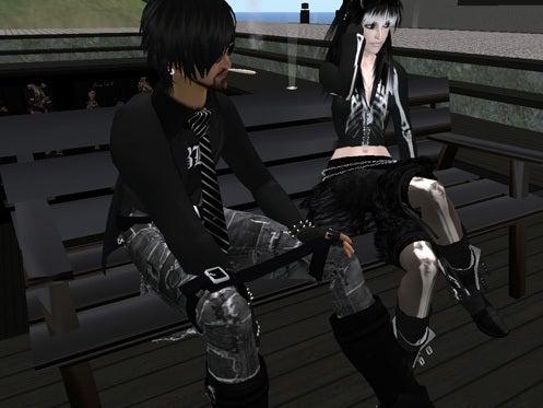Maya's style / Second Life Fashion-ペアで座ることも可能です