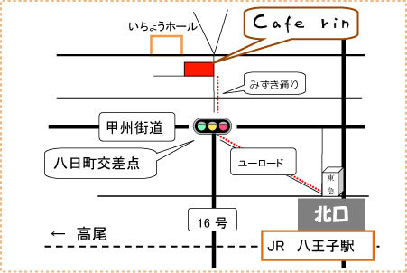 Cafe rin-map450