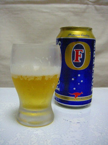 下戸でも美味しく飲めるビールはあるのか?-フォスターズ・ラガー