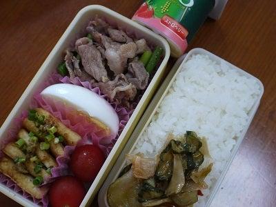 まーちゃんのお弁当-20110914