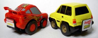 チョロQ☆スタイル-cars2 Lightning McQueen city R rear