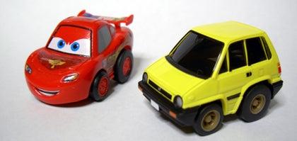 チョロQ☆スタイル-cars2 Lightning McQueen city R front