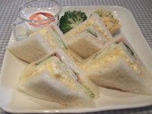 茨木市駅(阪急京都線) 徒歩8分 手作りの料理とケーキを提供する隠れ家カフェ           Cafe Sourire(カフェ スゥリール)-サンドウィッチ