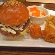 ★ハンバーガーでラン…