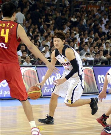日本、中国に敗れ3位通過 バスケットボール男子アジア選手権