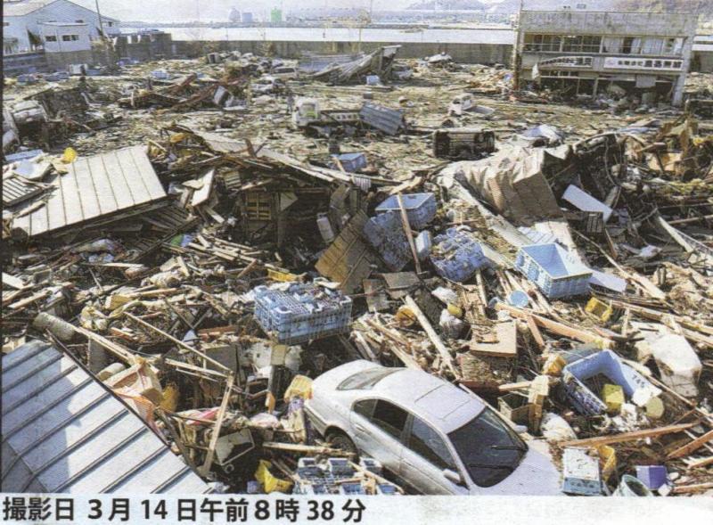 実録!東日本大震災 被災直後とその3ヶ月後の風景!