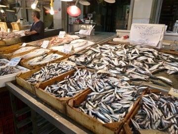 アテネ魚市場