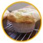 $金沢のおいしいパン【Su Franche】スーフランシュ-ヨーグルトとクリームチーズのマフィン