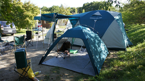 初めてのオートキャンプ!子供と一緒にキャンプに行こう!-北軽井沢スイートグラスに9月24日5
