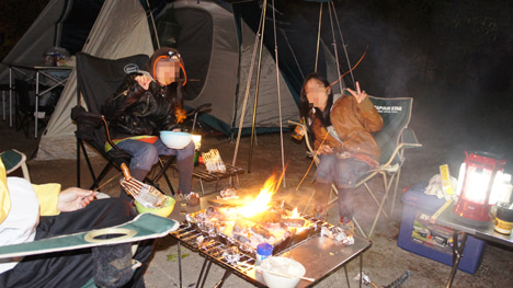初めてのオートキャンプ!子供と一緒にキャンプに行こう!-北軽井沢スイートグラスに9月24日8