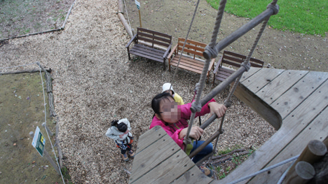 初めてのオートキャンプ!子供と一緒にキャンプに行こう!-フォレストアドベンチャー・あさま7