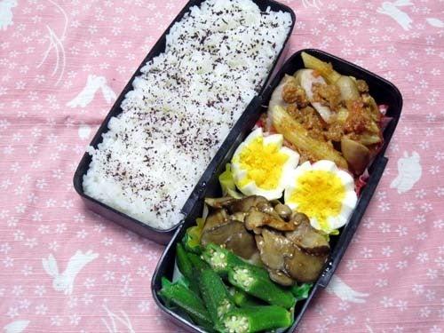 韓国料理研究家・ほんだともみのコリアンワールド-舞茸のサムジャンソース和え
