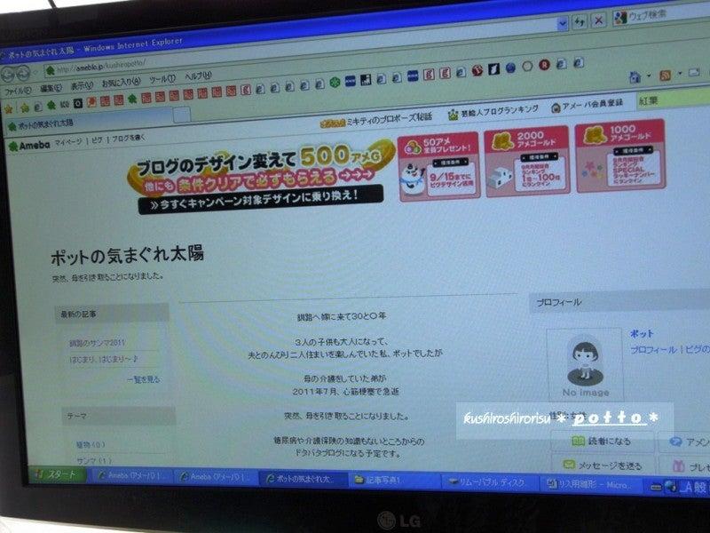 kushiroshirorisuな日々-新ブログ