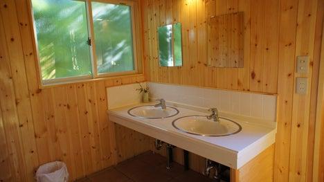 初めてのオートキャンプ!子供と一緒にキャンプに行こう!-北軽井沢スイートグラストイレ3