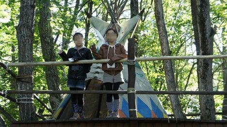初めてのオートキャンプ!子供と一緒にキャンプに行こう!-北軽井沢スイートグラス遊び場3
