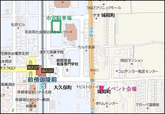 きらきらフェスティバル-map